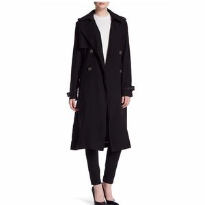 Vera Wang Chelsea Belted Trench Coat